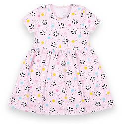 Детское платье с коротким рукавом, свободного кроя, Биг дрим,  PL-21-7,  GABBI (размер р.110)