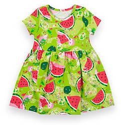 Детское платье с коротким рукавом, с кнопками на плече, Моя принцесса, PL-21-5, GABBI (размер р.110)