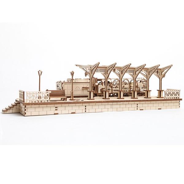 Механические 3D пазлы UGEARS - «Перрон»