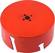 """Свердло коронка по силикату, кераміці, плити OSB YATO Ø92 x 60 мм, 5/8 """"- 18UNF"""