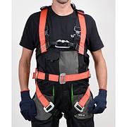 Шлейки безпеки поліестерові з лямками і стегновим пасом YATO для висотних робіт