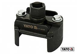 """Ключ для масляного фильтра разводной YATO Ø60-80 мм под вороток с квадратом 1/2"""""""