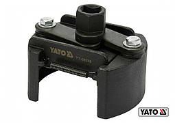 """Ключ для масляного фільтра розвідний YATO Ø80-105 мм під комірець з квадратом 1/2"""""""