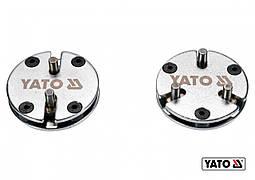 Адаптери з 2 і 3 штирями для гальмівних поршнів YATO 2 шт