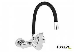 """Змішувач для мийки з гнучким виливом """"FLEXIBLE"""" FALA"""