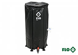 """Збірної бак дощової води з ПВХ FLO 100 л Ø3/4"""" Ø40 x 78 см стійкий до УФ променів"""