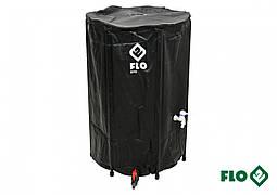 """Збірної бак дощової води з ПВХ FLO 250 л Ø3/4"""" Ø60 x 88 см стійкий до УФ променів"""