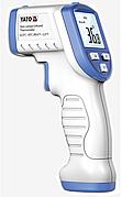 Термометр безконтактний інфрачервоний YATO: дистанція- 2-5 см, t=32-45°С, автовимк.- 15 с, 2 x 1.5 В