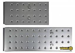 Панелі для сходів 17704 VOREL 56 х 29.5 см і 83 x 29.5 см із сталевої бляхи 2 шт