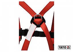 Шлейки безпеки з лямками корпусу тіла і амортизатор YATO для висотних робіт