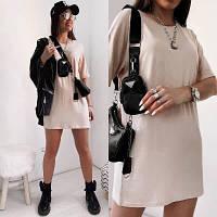 Женское летнее платье-туника новинка 2021