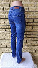 Стрейчеві джинси жіночі з високою посадкою CEKAR, Туреччина, фото 3