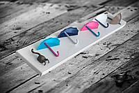 Декоративная вешалка, дизайнерская вешалка на стену для декора интерьера и одежды (крепкая, выдерживает тяж.)