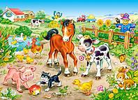 Пазлы На ферме на 120 элементов