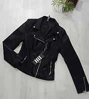 Куртка кожзам женская, XL,2XL, № 179131