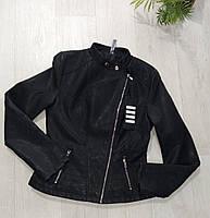 Куртка кожзам женская, XL рр, № 179131