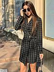 Женское платье - пиджак, габардин - тиар, р-р 44-46 (чёрный), фото 2