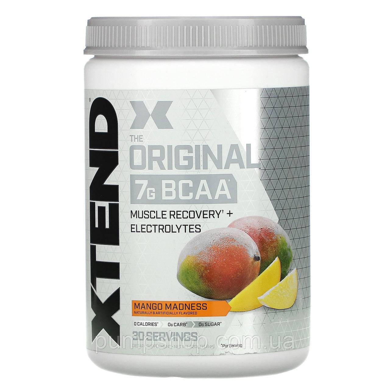 Амінокислоти BCAA Scivation Xtend BCAAs Original 420 г (30 порц.)
