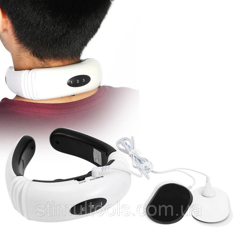 Масажер-міостимулятор для шиї Neck Massager