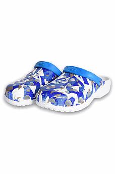 Кроксы пена женские синие Dreamstan 131529S