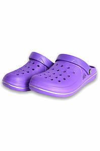 Кроксы пена женские фиолетовые Dreamstan 131526P