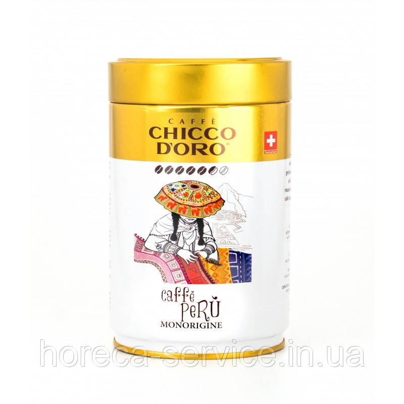 Кофе в зернах Chicco D'oro CAFFÈ PERÙ MONORIGINE 250 г.