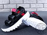 Жіночі сандалі Fila Disruptor 2 Sandal Summer Shoes Black White BW13HT 39, фото 5