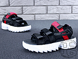 Жіночі сандалі Fila Disruptor 2 Sandal Summer Shoes Black White BW13HT 39, фото 6