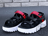 Жіночі сандалі Fila Disruptor 2 Sandal Summer Shoes Black White BW13HT 39, фото 9