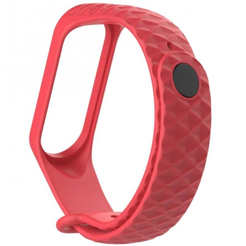 Ремешок Epik Rhomb для фитнес-браслета Xiaomi Mi Band 3 Красный