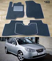 Ворсовые коврики на Hyundai Elantra HD '06-10, фото 1