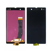 Дисплей для Sony Xperia Z C6602/ C6603/ C6606 с сенсором Black (DH0670)