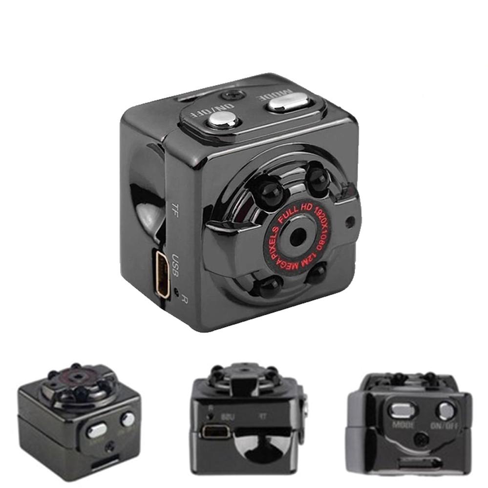 Екшн камера нічного бачення Міні відеокамера SQ8 Full HD 1080P відеореєстратор з датчиком руху