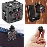 Екшн камера нічного бачення Міні відеокамера SQ8 Full HD 1080P відеореєстратор з датчиком руху, фото 3