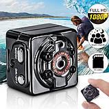 Екшн камера нічного бачення Міні відеокамера SQ8 Full HD 1080P відеореєстратор з датчиком руху, фото 4