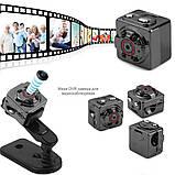 Екшн камера нічного бачення Міні відеокамера SQ8 Full HD 1080P відеореєстратор з датчиком руху, фото 2