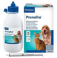 ПРОНЕФРА 180 мл PRONEFRA пероральна суспензія для лікування хронічних хвороб нирок у кішок і собак