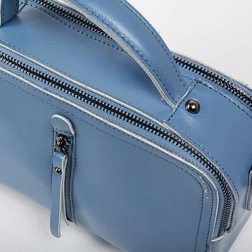 Сумка Жіноча Класична шкіра ALEX RAI 03-02 9119 Синяя, фото 2