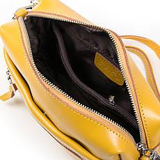 Женская сумка-кроссбоди кожа ALEX RAI 03-02 1052 Желтая, фото 3