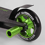 Самокат трюковий 86380 Best Scooter HIC-система, ПЕГІ, алюмінієвий диск і дека, PU колеса, фото 5