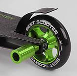 Самокат трюковый 86380 Best Scooter HIC-система, ПЕГИ, алюминиевый диск и дека, колёса PU, фото 5
