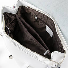 Сумка Женская Классическая кожа ALEX RAI 05-01 8796 Белая, фото 3