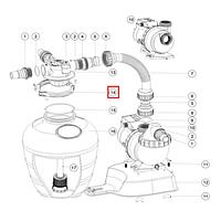 Emaux Хомут крепления (89033602) для фильтров Emaux серии FSU