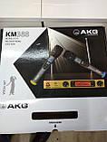 Микрофоны беспроводные пара c базой AKG профессиональные, фото 4