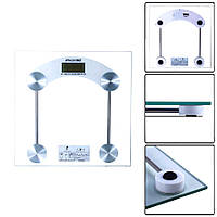 Электронные напольные весы со стеклянным основанием