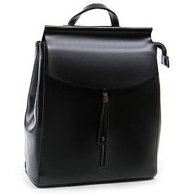 Рюкзак женский кожаный Case ALEX RAI 07s10m31220364 черный