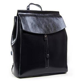 Рюкзак женский кожаный ALEX RAI 05-01 3206 синий