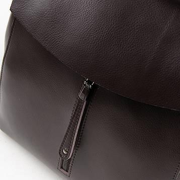 Рюкзак женский кожаный ALEX RAI 05-01 3206 brown, фото 2