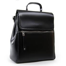 Рюкзак женский кожаный ALEX RAI 05-01 1005 черный