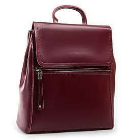 Рюкзак женский кожаный ALEX RAI 03-01 1005 красный